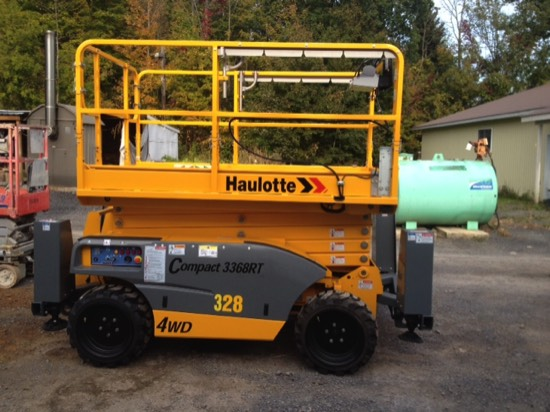 Haulotte Rough Terrain Scissor Lift